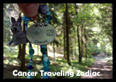 Cancer Traveling Zodiac Geocoin
